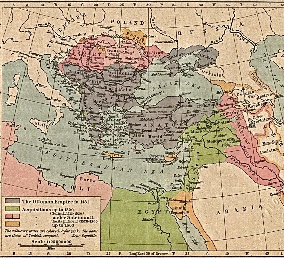 Expanding Ottoman Empire