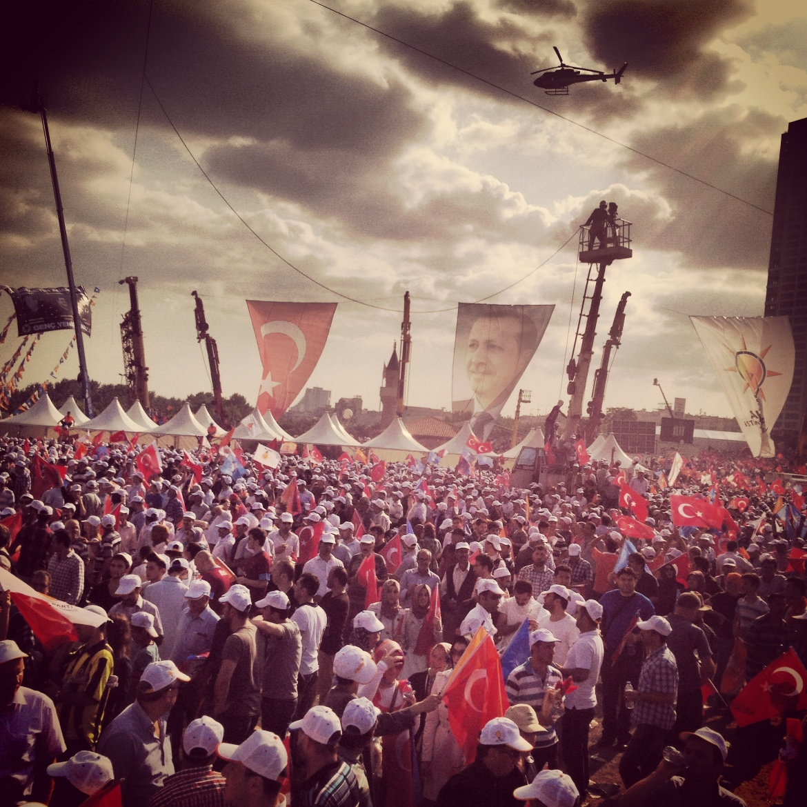 The AKP is a brazen cult of personality that revolves around Erdogan.