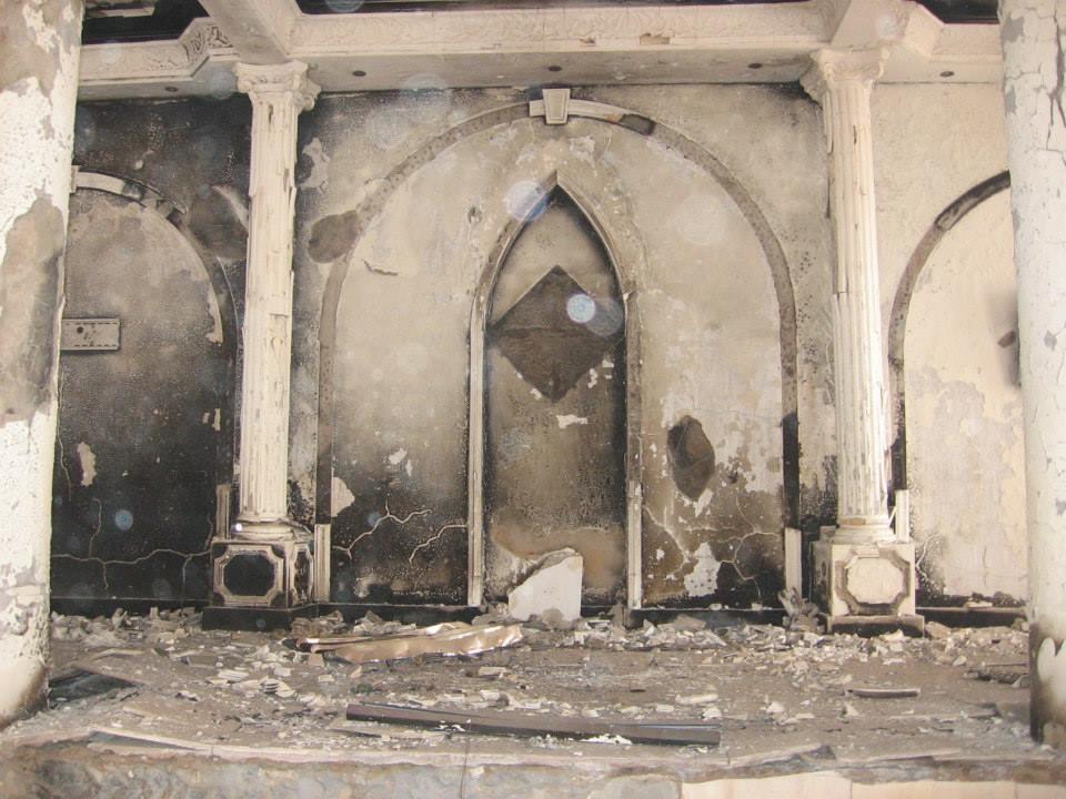 After being burnt by the Muslim Brotherhood this week.