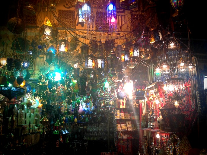 A photo I captured on my iPhone this past summer in an Egyptian market in Al-Azhar, Cairo